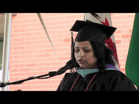 2012 Baccalaureate Degree Speaker - Ms. Laura Aguiar