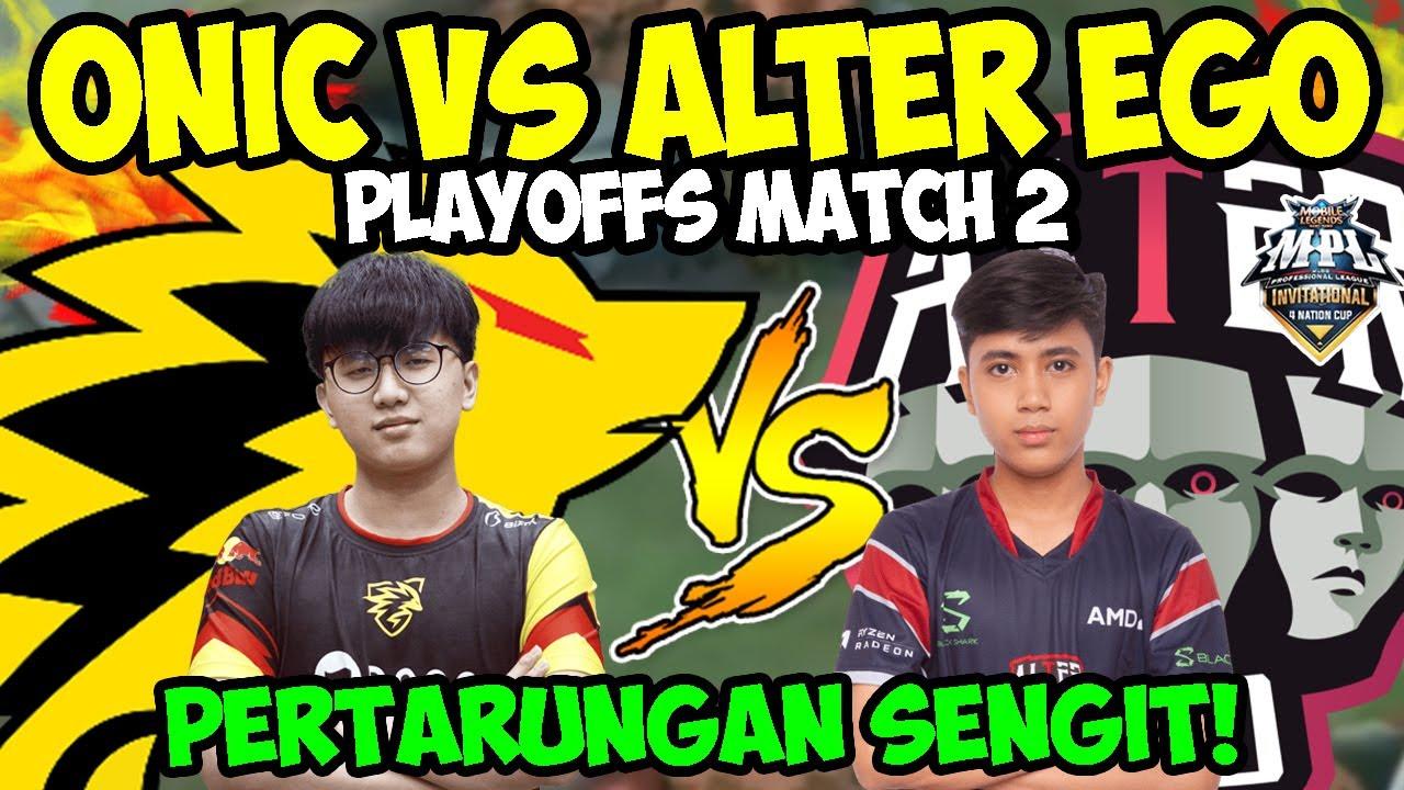MATCH 2 ONIC VS ALTER EGO!! PERTARUNGAN SENGIT CELIBOY VS CW!!! | Donkey BAR BAR