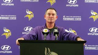 Mike Zimmer discusses roster moves, improvement midway through preseason