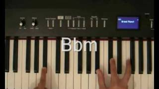 Akon - Hold My Hand Piano Tutorial.wmv