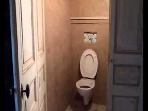 Toilet Beton Cire : Beton cire online petite salle de bain en béton ciré youtube