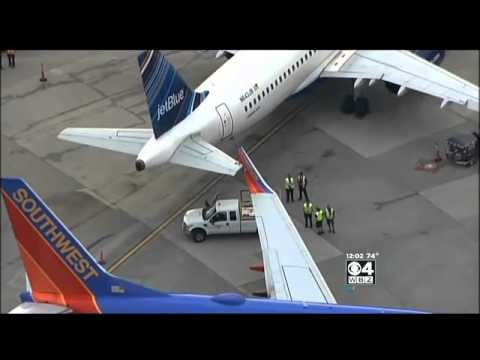 Southwest, JetBlue Planes Collide At Logan Airport Gate
