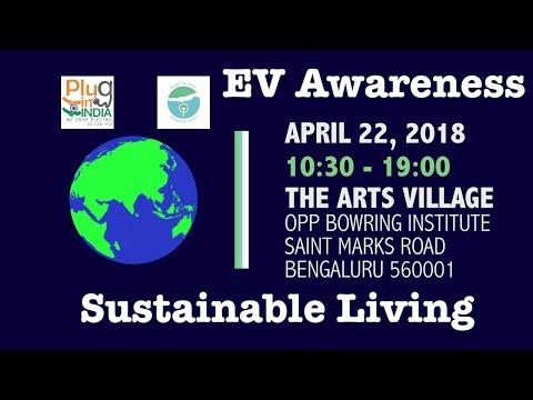 Let Us Breathe Bengaluru : EV Awareness on EarthDay - April 22nd 2018