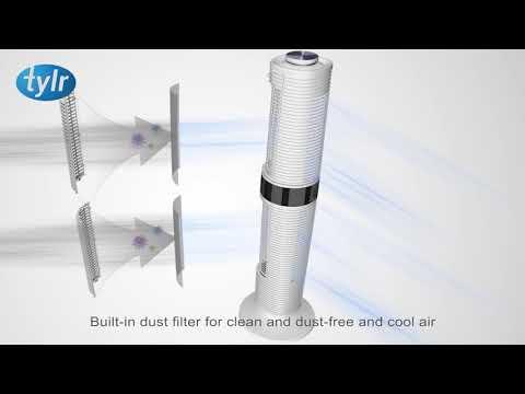 Tylr 360° Tower Fan