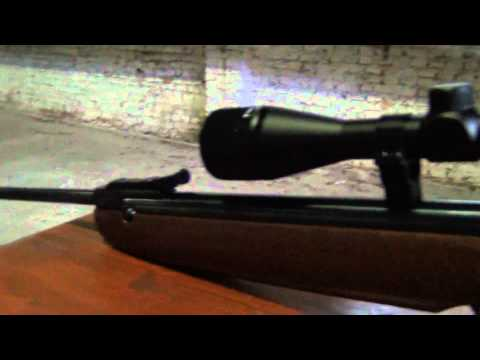 Weihrauch HW 50 .177 + ottica Walther 3-9x40 -- distanza 21 metri (23 Yards)