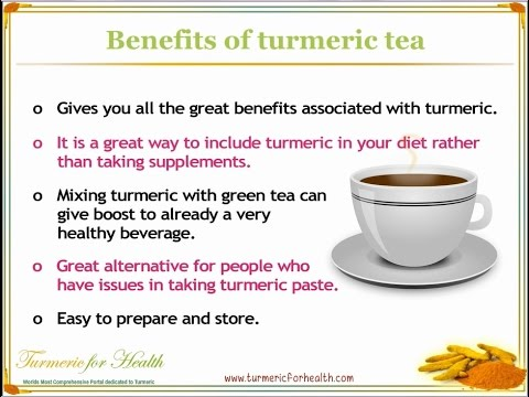 4 Different Ways to Make Healthy Turmeric Tea