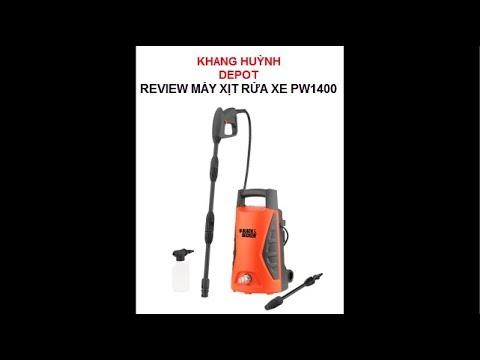 Review Máy Xịt Rửa Của Black&Decker PW1400 - Thương Hiệu đến Từ Mỹ