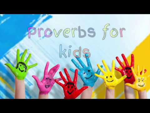 Audio Bible Proverbs for Kids 1 - YouTube