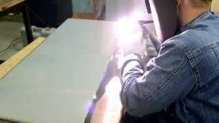 Аргонная сварка нержавейки. Изготовление емкости.(Изготовим различные металлоконструкции. В том числе из нержавеющей стали. +79878833724 +79613733508 г.Йошкар-Ола., 2014-12-13T19:12:56.000Z)