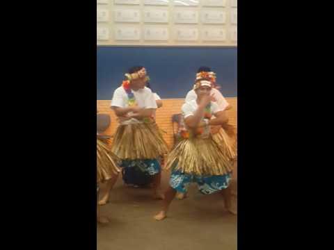 Tuvaluans at Porirua College, Wellington 2016