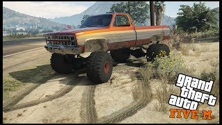 GTA 5 ROLEPLAY - LIFTED CHEVY SQUARE BODY OFFROAD TRIP PT.1  - EP. 526 - CIV