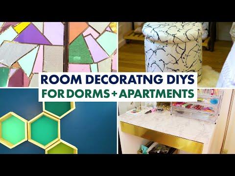 7 Decorating DIYs for Apartments and Dorm Rooms - HGTV Handmade