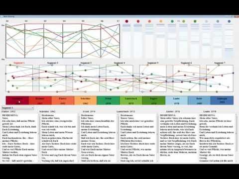 ShakerVis: Visual Analysis of Segment Variation of German Translations of Shakespeare's Othello
