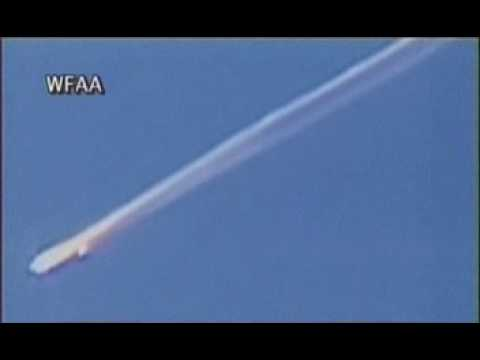 NASA - Space Shuttle - Columbia Break-up flight Footage