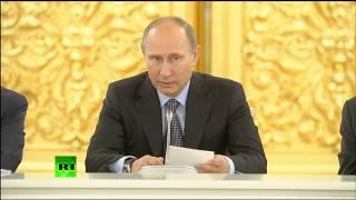 Путин: закон об НКО справедлив, но может быть доработан