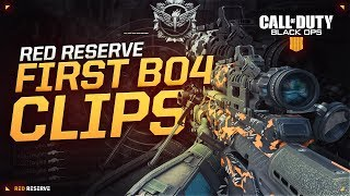 Red Reserve: First Clips on Black Ops 4