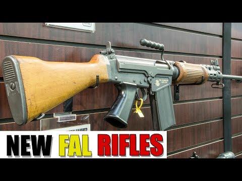 DSA Announces New Tactical and Israeli FAL Rifles (SHOT Show 2019)