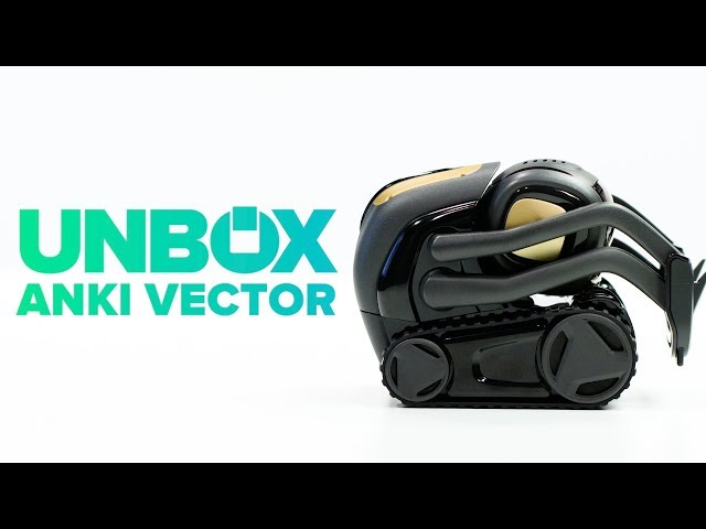 Anki Vector unboxing