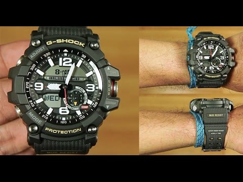 4a8560616776 Casio MUDMASTER GG-1000-1A BLACK   UNBOXING - YouTube