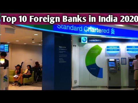 Top 10 Foreign Banks in India 2020 || Foreign banks in india 2020,