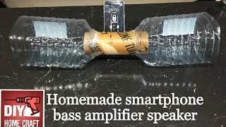 Homemade phone bass amplifier speaker