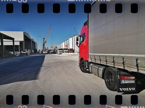 #truckerslifestyle s03 cz.3    #Artdrive (71) PORT W CASTELLONIE, HISZPAŃSKIE WIDOKI, SPOT Z ARTEM