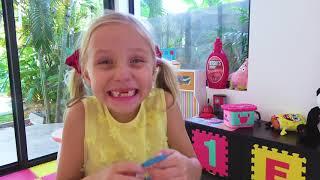 Alicia y papá - reglas de conducta para que los niños no se enfermen