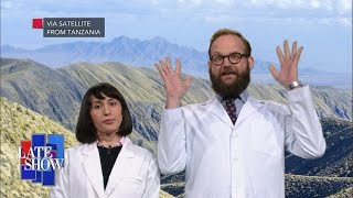 Helium Discovery In Tanzania Rocks The Science World by : The Late Show with Stephen Colbert