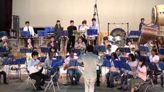 豊北吹奏楽団 第41回 定期演奏会 2015年4月26日に下関市豊北町にある豊...