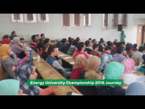 Energy University Championship 2016 Journey. Schneider Electric Egypt