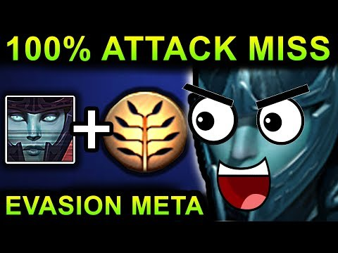 UNLIMITED EVASION PHANTOM ASSASSIN - DOTA 2 PATCH 7.07 NEW META PRO GAMEPLAY