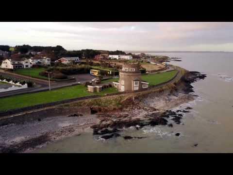 Portmarnock Beach Drone Footage