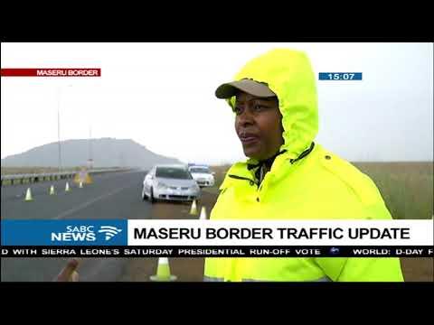 Maseru border traffic update