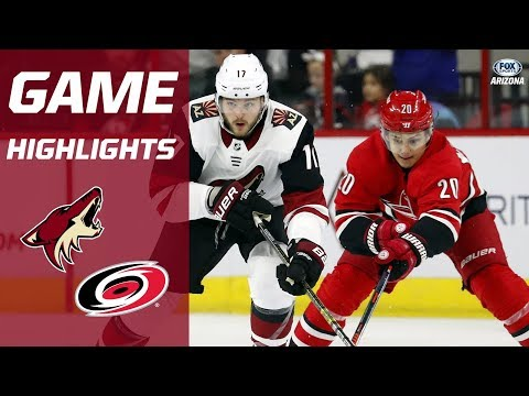 HIGHLIGHTS: Hurricanes 3, Coyotes 0