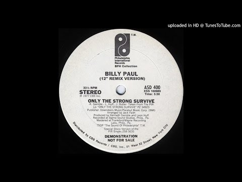 Billy Paul - Only the Strong Survive (1977)
