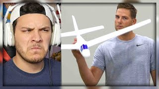 Video Airplane Trick Shots | Dude Perfect - Reaction download MP3, 3GP, MP4, WEBM, AVI, FLV Oktober 2018