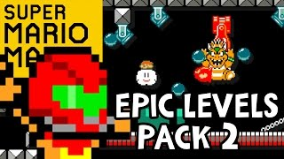 THE BEST MARIO MAKER COURSE!! Super Mario Maker Gameplay - EPIC LEVELS #2 (Wii U 1080p 60fps)