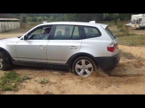 bmw e83 x3 offroad in the sand youtube. Black Bedroom Furniture Sets. Home Design Ideas