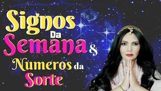 PREVISÃO HOROSCOPO DA SEMANA E NÚMEROS DA SORTE - TODOS OS SIGNOS DE 16-09 A - 22-09