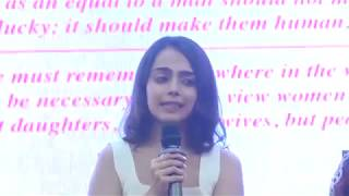 Vedika Kanchan talks about the change in society