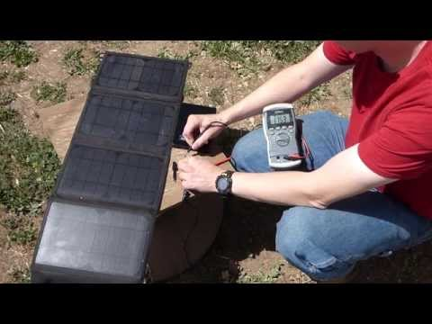 Bugout Solar Panel and Battery Combo