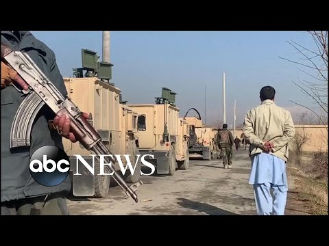 Suicide bomb explodes at largest US military base in Afghanistan l ABC News
