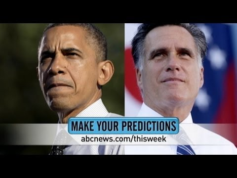 2012 Presidential Election Predictions;