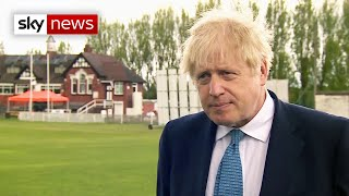 BREAKING: 'Not the time for a reckless referendum' on Scottish Independence, says Boris Johnson
