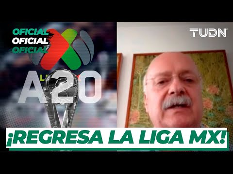 🚨 OFICIAL: ¡El Apertura 2020 arranca el 24 DE JULIO  y regresa el REPECHAJE a la Liga Mx! | TUDN
