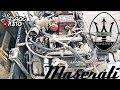 ????? ?? ???????? Maserati Biturbo AM 453 engine 18 valve