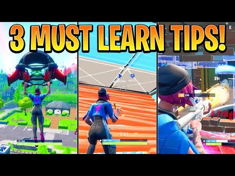 BEST 3 Tips to OUTPLAY your OPPONENT! How to win in Fortnite Season 9! (Fortnite Ps4/Xbox One Tips)