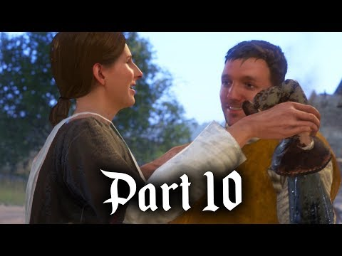 Kingdom Come Deliverance Gameplay Walkthrough Part 10 - FIGHT FOR LOVE (Full Game)