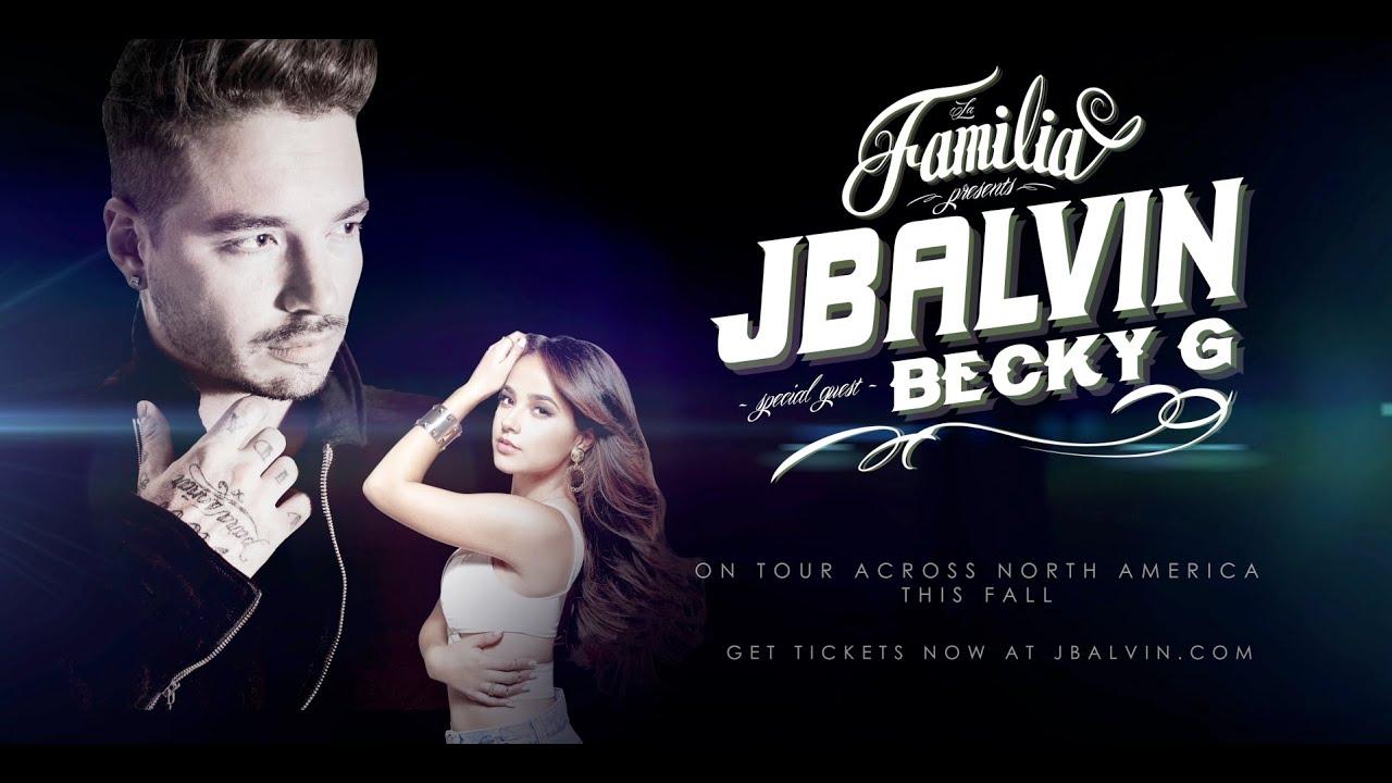Download La Familia Tour: J Balvin lleva su gira por Estados Unidos junto a Becky G