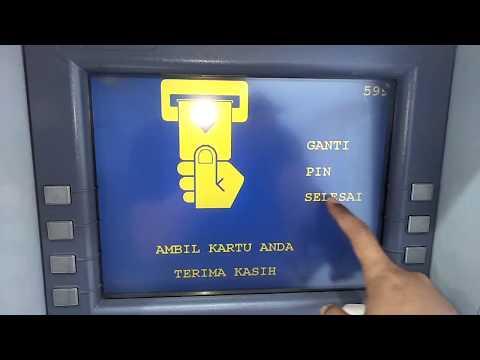 Cara Ganti PIN Kartu ATM Mandiri.